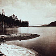 Donner Lake - California - C 1865 Poster