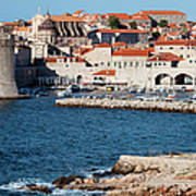 Dubrovnik Old City Architecture Poster