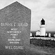 Dunnet Head Most Northerly Point Of Mainland Britain Scotland Uk Poster by Joe Fox