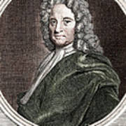 Edmond Halley, English Polymath Poster