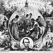 Effects Of Emancipation Proclamation Poster by Photo Researchers
