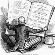 Election Cartoon, 1876 Poster by Granger
