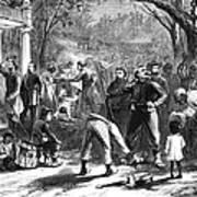 Emancipation, 1863 Poster