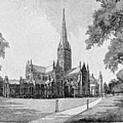 England: Salisbury Poster