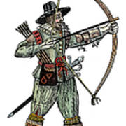 English Archer, 1634 Poster