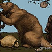 Extinct Fauna Poster