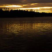 Fall Sunset Poster