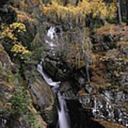 Falls Of Bruar Scotland Poster