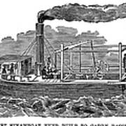 Fitchs Steamboat, C1790 Poster