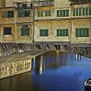 Florence - Ponte Vecchio Poster by Joana Kruse