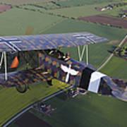 Fokker D.vii World War I Replica Poster
