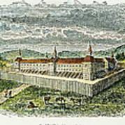 Fort Marietta, Ohio, C1790 Poster