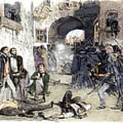 France: Paris Riot, 1851 Poster