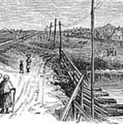 Freedmens Village, 1866 Poster by Granger