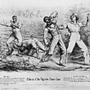 Fugitive Slave Law Poster by Photo Researchers