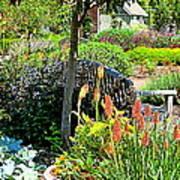 Garden Bench Poster