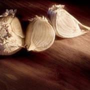 Garlic Cloves Poster