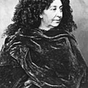 George Sand, French Author And Feminist Poster