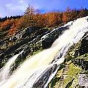 Glenmacnass Waterfall, Co Wicklow Poster
