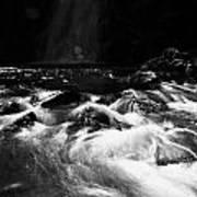 Gleno Or Glenoe Waterfall County Antrim Northern Ireland Poster by Joe Fox