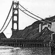 Golden Gate Bridge Work Poster