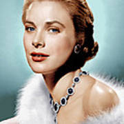 Grace Kelly, Ca. 1955 Poster