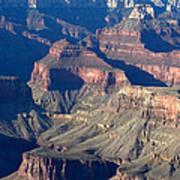 Grand Canyon Shadows Poster