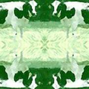 Green Cows Poster