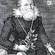 Gregor Horstius, German Physician Poster by Science Source