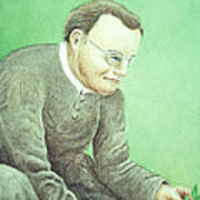 Gregor Mendel, Father Of Genetics Poster