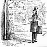 Grover Cleveland Cartoon Poster