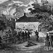 Harpers Ferry Insurrection, 1859 Poster