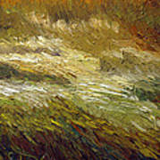 Harvest Grass Poster