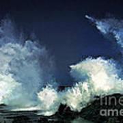 Hawaiian Surf Poster