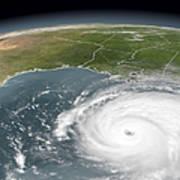 Hurricane Rita Poster