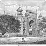 India: Taj Mahal Poster