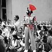 Indian Man Wearing Turban Poster