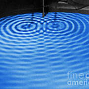 Intersecting Ripples Poster