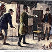 Irish Land League, 1881 Poster