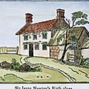 Isaac Newton Birthplace Poster