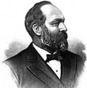 James A. Garfield, 20th American Poster