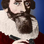 Johannes Kepler, German Astronomer Poster by Science Source