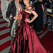 John Galliano, Charlize Theron Wearing Poster