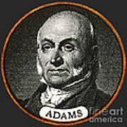 John Quincy Adams, 6th American Poster