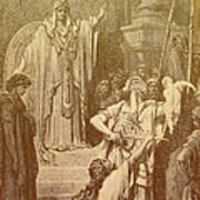 Judgment Of Solomon Poster