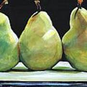 Kitchen Pears Poster