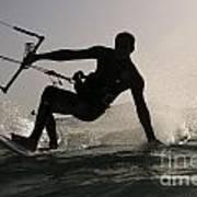 Kitesurfing Board Poster