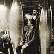 Konstantin Tsiolkovsky, Rocket Pioneer Poster