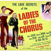 Ladies Of The Chorus, Adele Jergens Poster by Everett