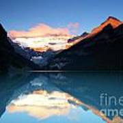Lake Louise Sunrise Poster